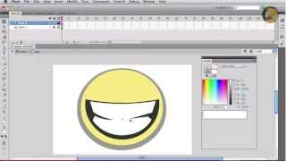 Create an Animated Smiley in Flash (Part 1/3 - Drawing)