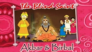 Akbar Birbal Animated Moral Stories || The Blind Saint || Hindi Vol 2