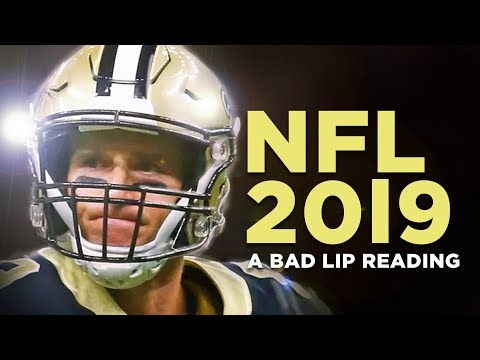 'NFL 2019' — A Bad Lip Reading of The NFL
