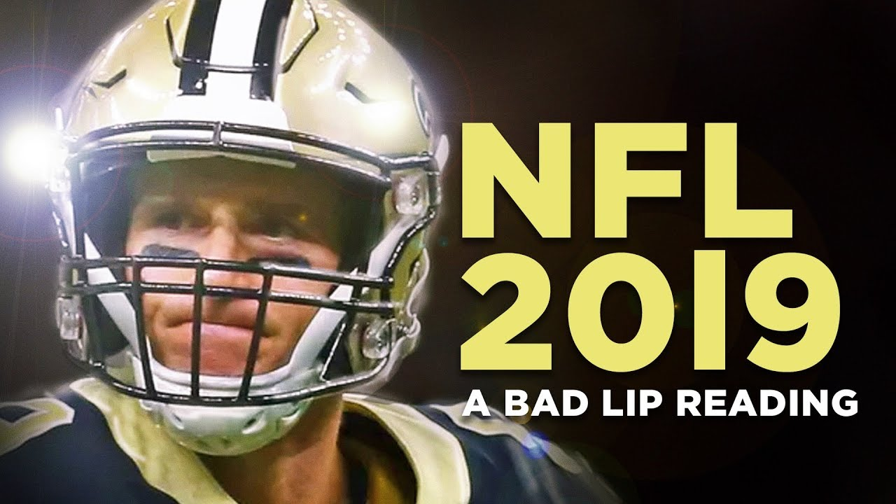 Nfl 2019 A Bad Lip Reading Of The Nfl