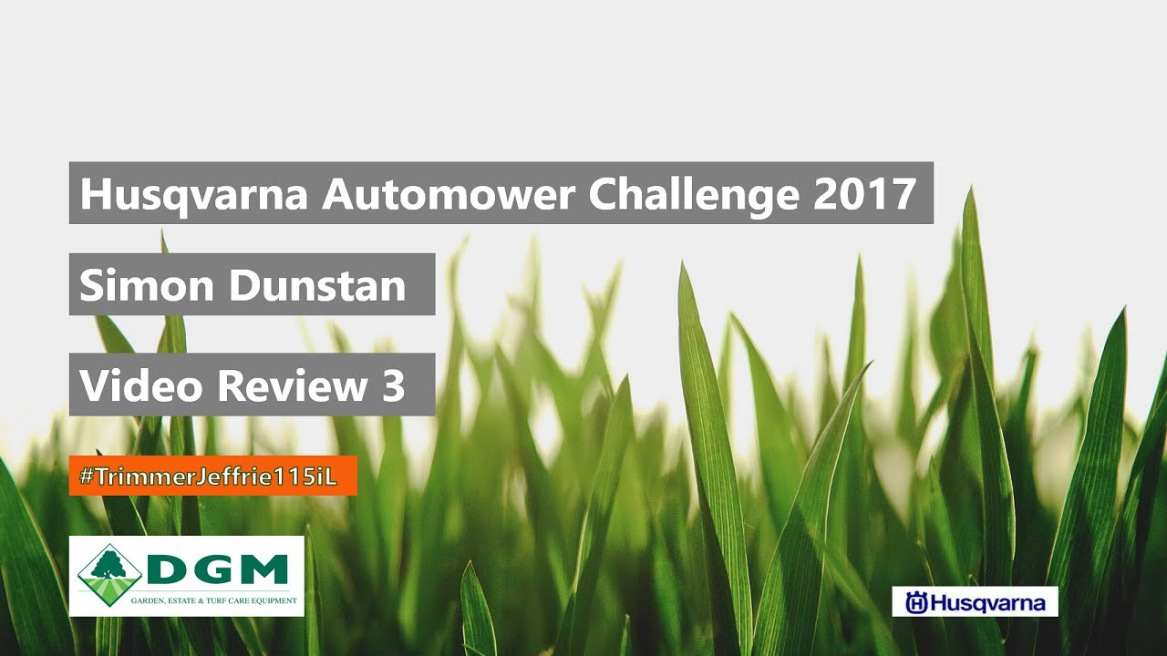 Husqvarna Battery Trimmer 115iL - Review 3