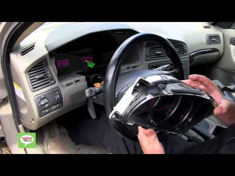 Volvo Instrument Cluster / DIM Removal Procedure For V70, XC70, S60, S80, XC90