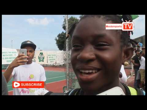 12YR OLD TENNIS SENSATION WINNING HEARTS IN NIGERIA