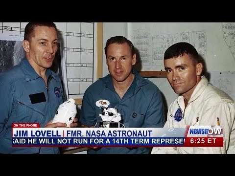 Astronauts Charlie Duke & Jim Lovell Discuss the Future Of NASA