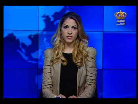English News at ten in Jordan Television 25-10-2015