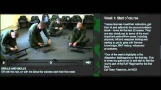 RAF Regiment Gunner Training: WEEK 1: Start of course