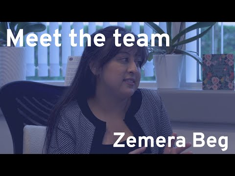 Meet the Team: Zemera Beg