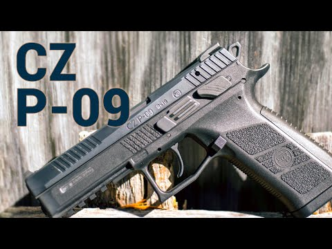 CZ's First Full-Sized Polymer Pistol: The CZ P-09