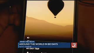 Gambar cover What the Tech? Airbnb 'Adventures' offers trip 'Around the World in 80 Days'