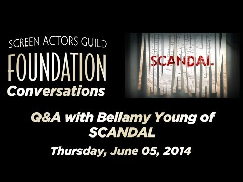 Conversations with Bellamy Young of SCANDAL
