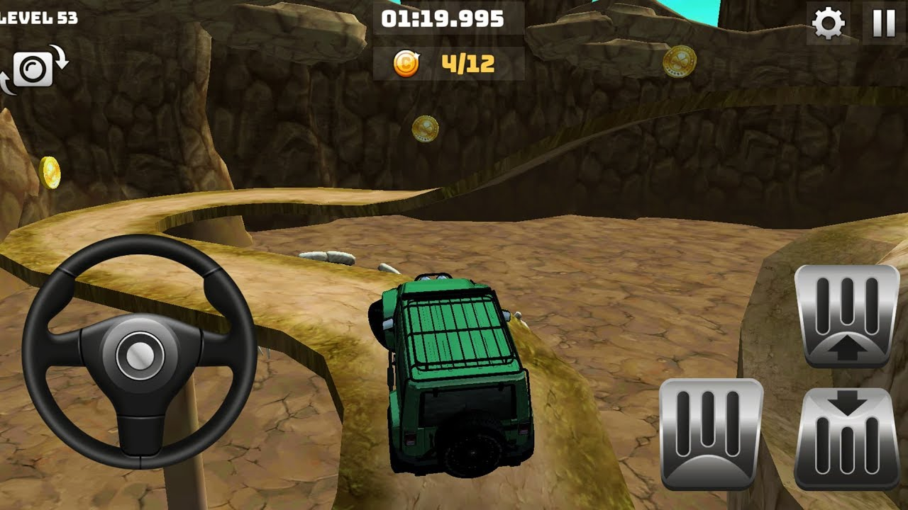 🥇 Mountain Climb 4x4 : Offroad Car Drive - Android Games