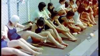 校内水泳大会2,新宿区立戸塚第一中学校,3年生,1976/9,昭和51年