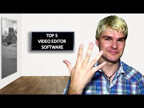 "Video Editor Software ""Meine Top 5 Programme"" KOSTENLOS FREE"