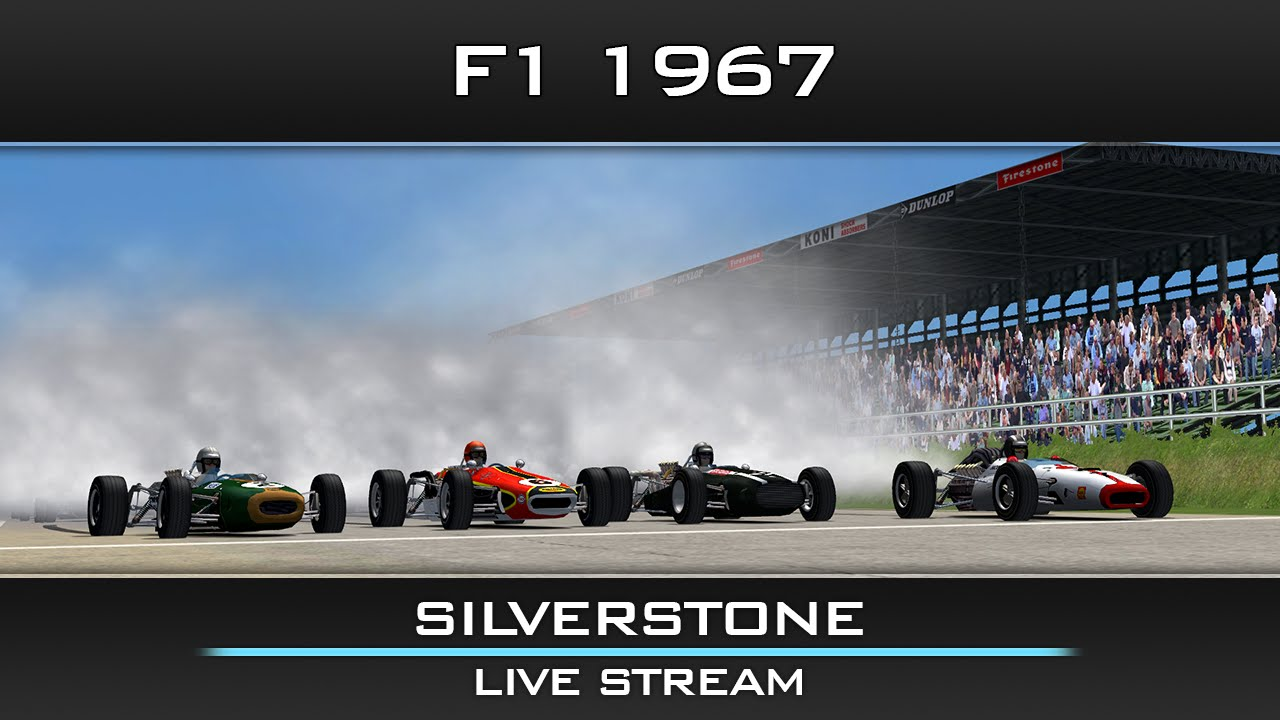 rfactor f1 1967 british gp silverstone live stream youtube. Black Bedroom Furniture Sets. Home Design Ideas