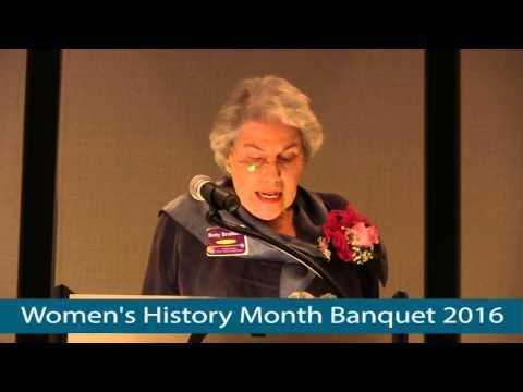 Washington County Women's History Month Banquet [2016]