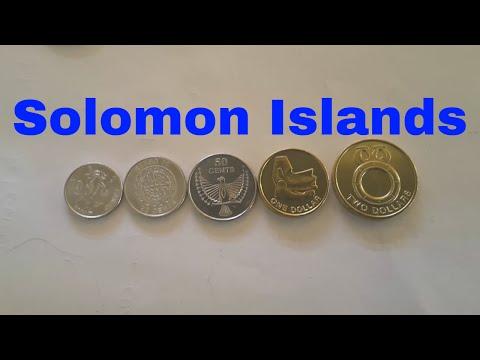 Solomon Islands 2012 coins