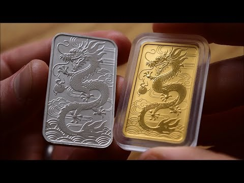 Gold & Silver Dragon from the Perth Mint - In Focus Friday - Episode 82!