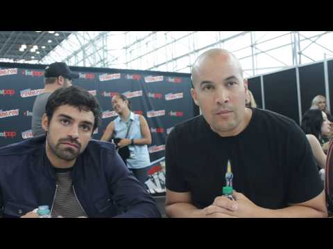 NYCC 2017 The Gifted Sean Teale and Coby Bell