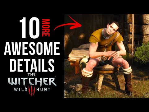 10 AWESOME Details In The Witcher 3: Wild Hunt (Part 3)