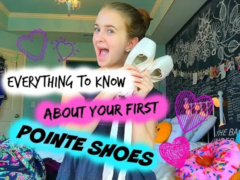 Everything you NEED to know about your first pointe shoes!!!
