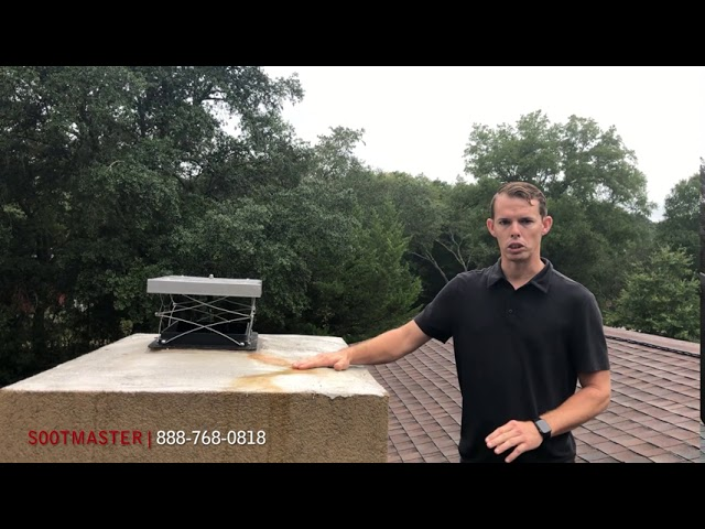 Chimney Crown And Moisture | Sootmaster Fireplace & Chimney Sweep