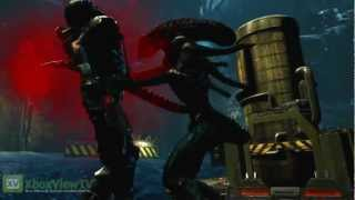 aliens colonial marines   escape mode gameplay trailer   2012   hd