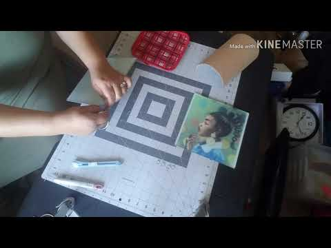 Sublimation Using Dollar Tree Glass Cutting Board #sublimation #dollartree