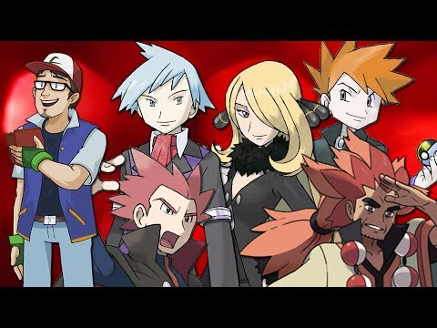 Top 10 Pokémon Elite Four + Champions