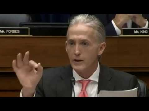 Questions to  FBI Director James Comey by Trey Gowdy