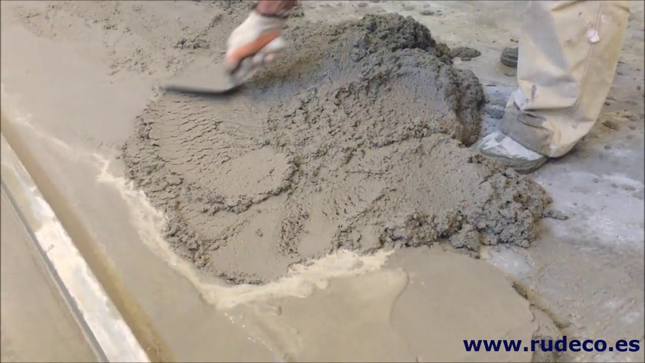 nivelado suelo con mortero de cemento youtube ForMortero De Cemento