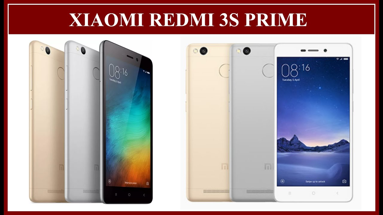 Xiaomi Redmi 3S Prime Specifications (New, 3 GB RAM, 32 GB ROM, Fingerprint  Sensor)