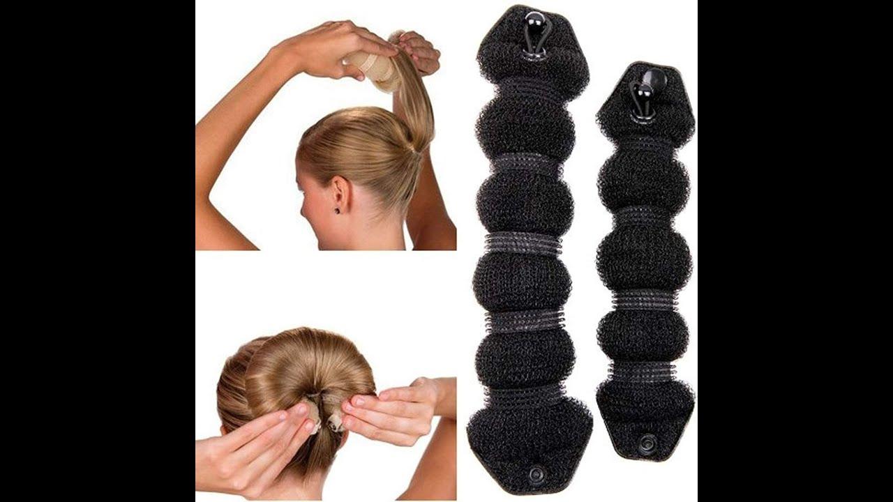 Hair Styling Styler Twist Ring Shaper Doughnut Chignon Donut Bun Maker Hair Accessories