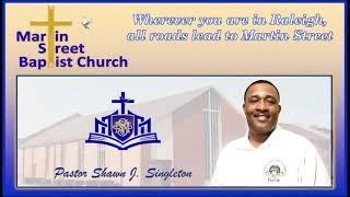 January 31, 2021 Sunday Morning Worship from Martin Street Baptist Church