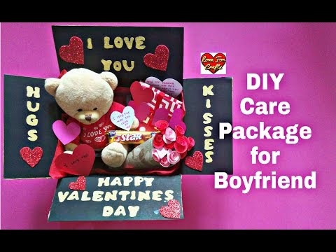 DIY - Care Package for Boyfriend | Valentines Day Gift Idea | Gift for Boyfriend/Husband