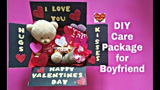 DIY - Care Package for Boyfriend | Valentine's Day Gift Idea | Gift for Boyfriend/Husband