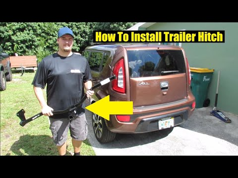 How to Install Trailer Hitch on Kia Soul