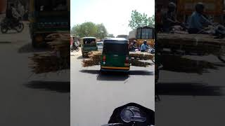 Autos carrying loads present huge challenge for Noida traffic police