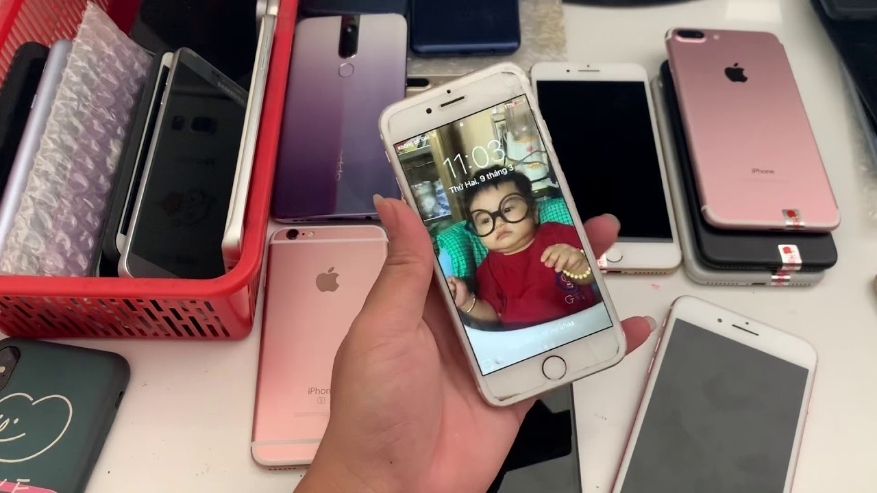 Iphone giá rẻ nguyên zin. Giá từ 1tr050k iphone 6g. Đến iphone 7plus 32gb nguyên áp. 9/3/2020