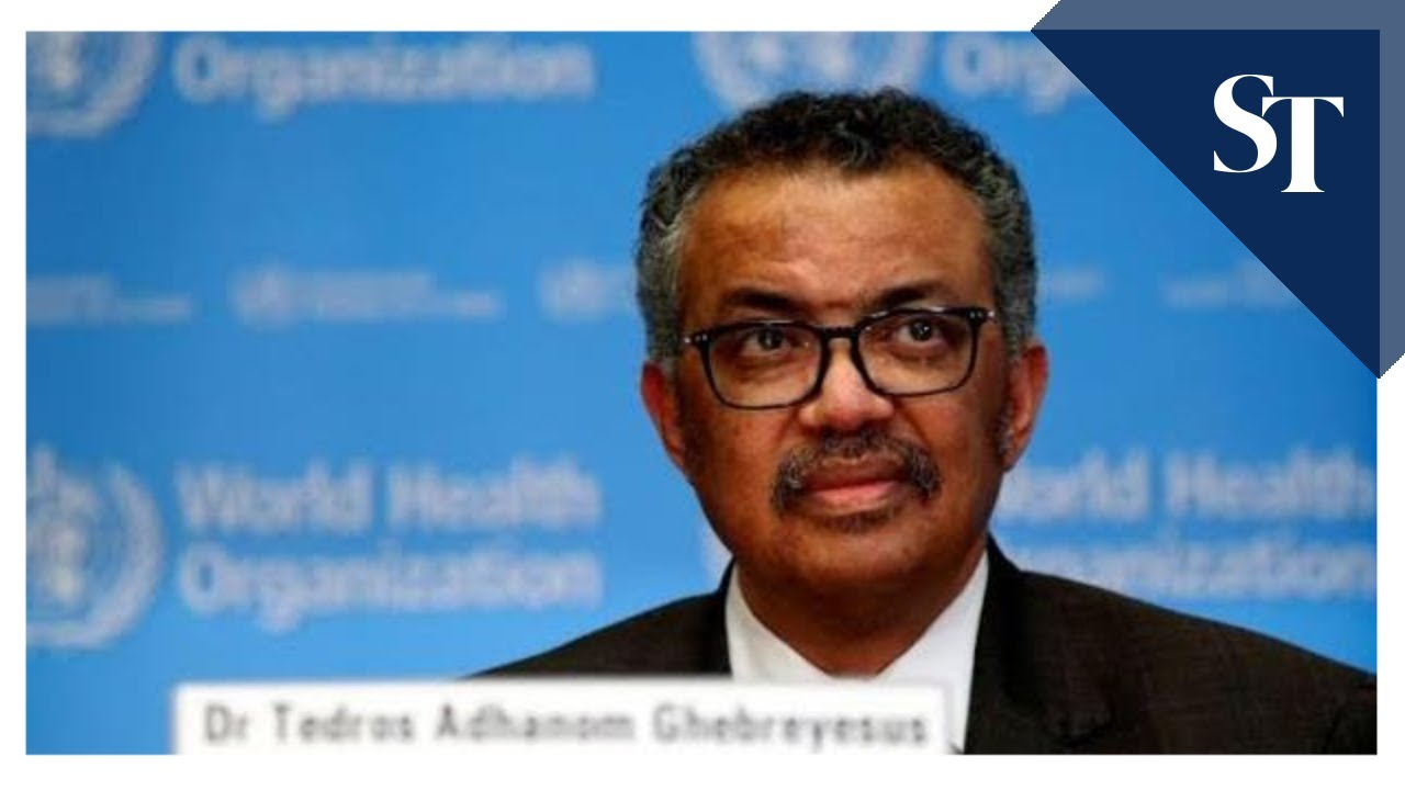 WHO chief urges US to reconsider funding, says virus will stay 'for a long time'