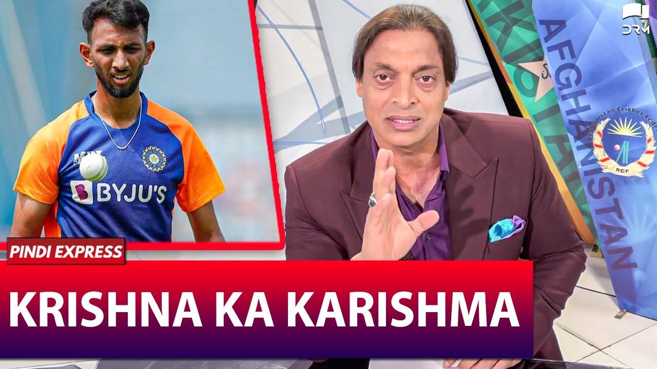 Pak Pacer Shoaib Akhtar Praises Prasiddh Krishna