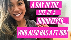 DAY IN THE LIFE OF A BOOKKEEPER (BOOKKEEPING FROM HOME)