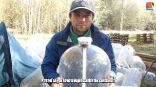Строительство катамарана из ПЭТ кег - Пластиковые бутылки / Plastic kegs