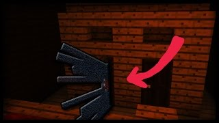 Scary Closet Jumpscare in Minecraft (Halloween Creation)
