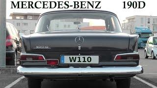 Mercedes-Benz Baureihe W110 * 190D Heckflosse * Fintail Sedan (1961-1968)