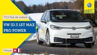 VW ID.3 1st Max Pro Power - Test de voiture