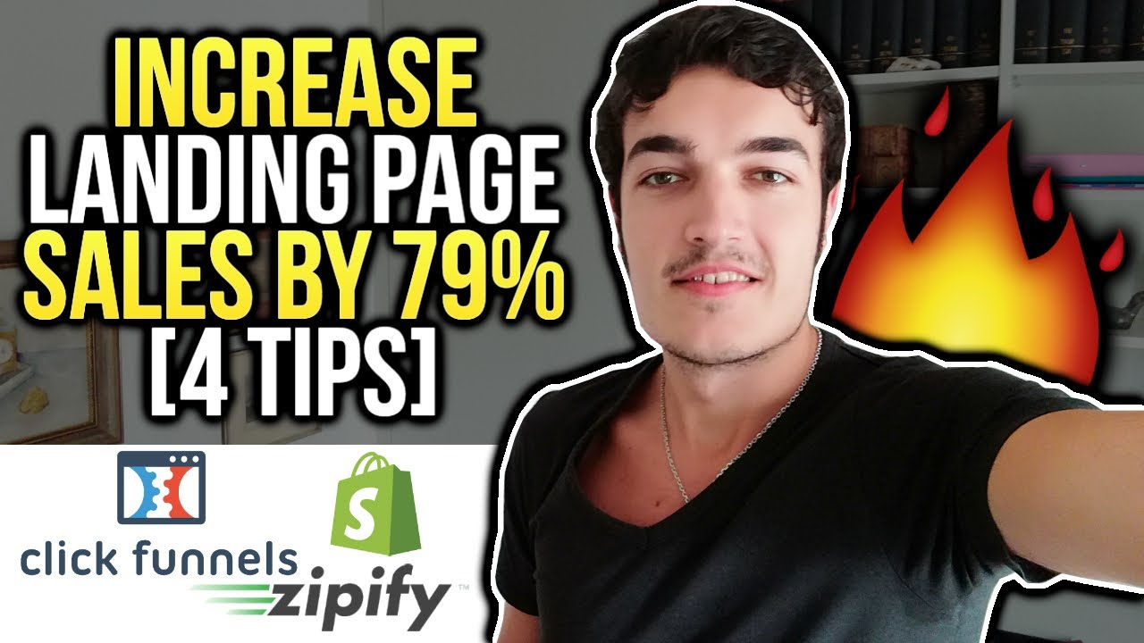 How To Increase LANDING PAGE SALES By 79% [Zipify, ClickFunnels etc]