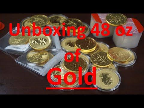 District Bullion   Unboxing 48 1oz gold coins