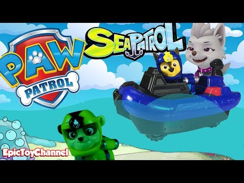 Paw Patrol Nickelodeon Mission Paw Rescue Pups Captain Turbot Sea Patrol Toys at My Size Look Out