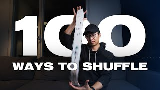 100 WAYS TO SHUFFLE CARDS (Captivating Card Manipulation)