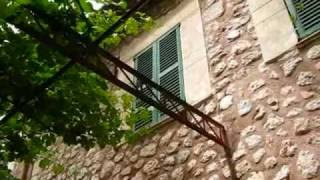 Mallorca Travel: Finca Ca's Sant in Soller - Stones Explaining the History of the Mansion